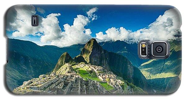 Machu Picchu Galaxy S5 Case by Ulrich Schade