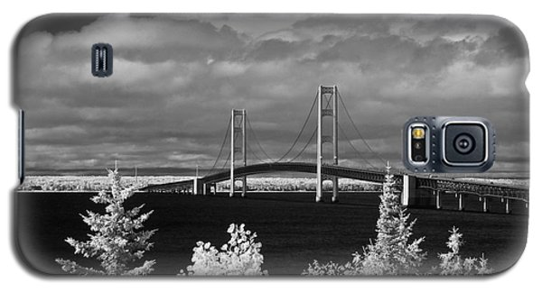 Macinac Bridge - Infrared Galaxy S5 Case