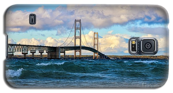 Mackinac Among The Waves Galaxy S5 Case