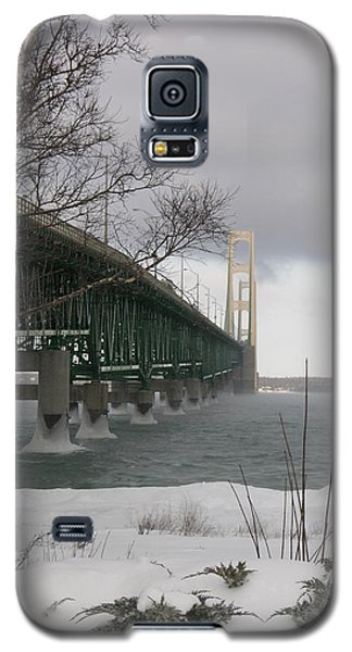 Mackinac Bridge At Christmas Galaxy S5 Case