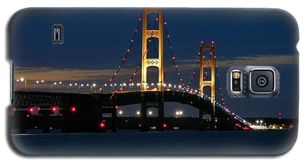 Mackinac Bridge At Dusk Galaxy S5 Case