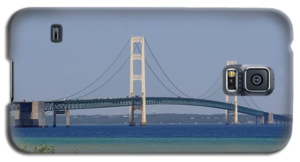 Mackinac Bridge Blue Galaxy S5 Case
