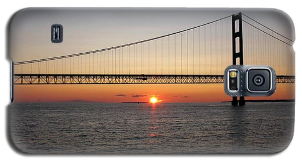 Mackinac Bridge Sunset Galaxy S5 Case