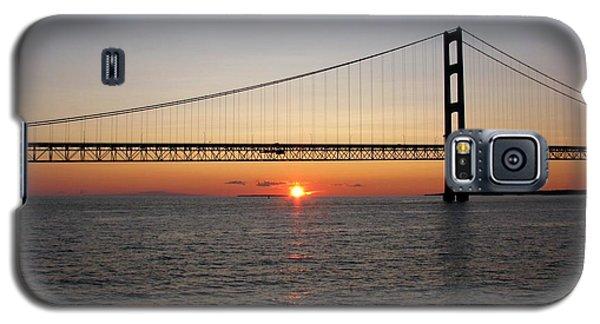 Mackinac Bridge Sunset Galaxy S5 Case
