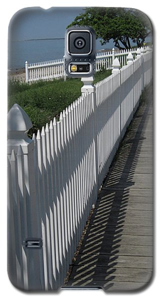Mackinac Island Boardwalk Galaxy S5 Case