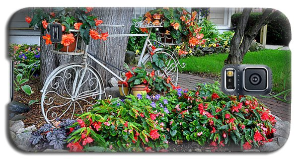 Mackinac Island Garden Galaxy S5 Case