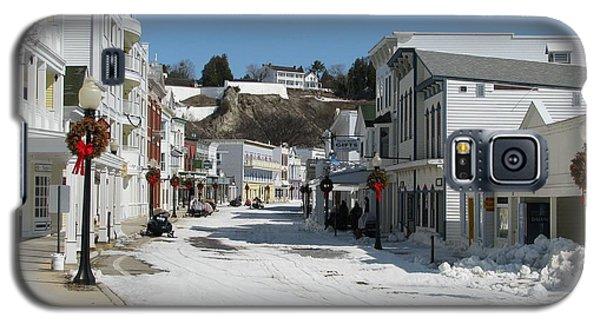 Mackinac Island In Winter Galaxy S5 Case