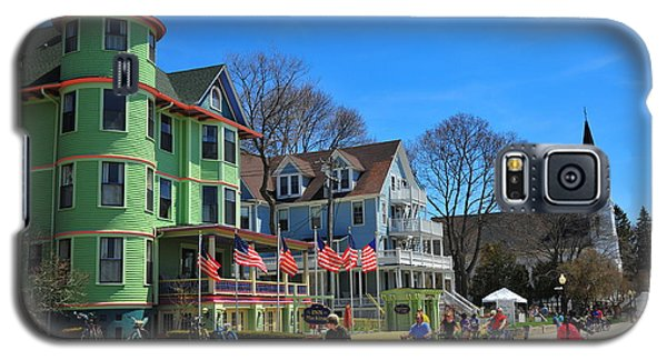 Mackinac Island Waterfront Street Galaxy S5 Case