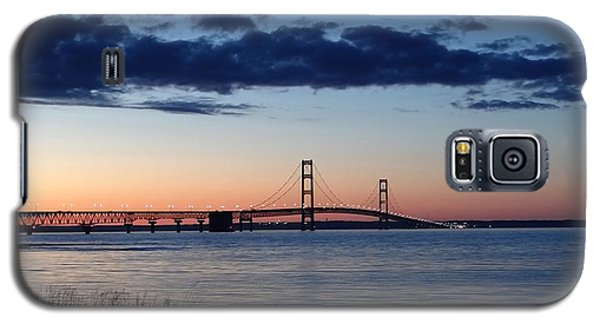 Mackinaw Bridge Twilight Galaxy S5 Case
