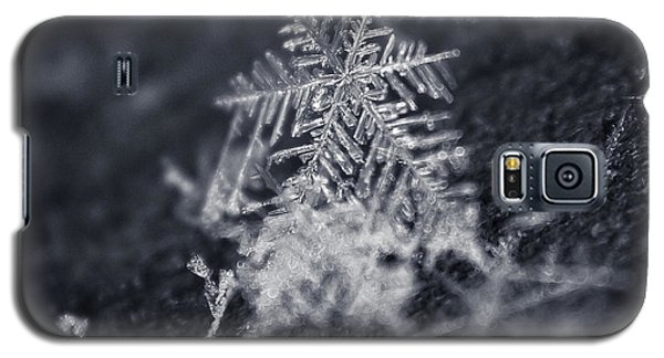 Macro Snowflake Galaxy S5 Case