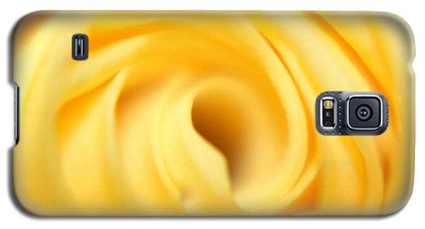 Macro Yellow Rose Galaxy S5 Case