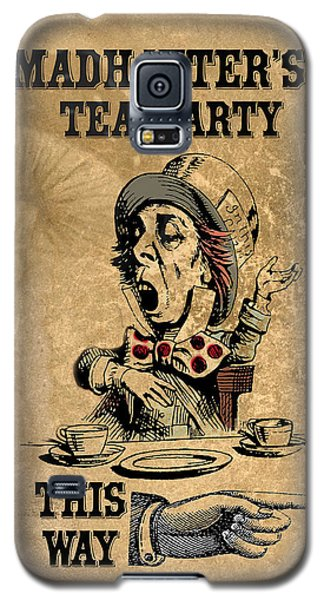 Mad Hatters Tea Party Galaxy S5 Case