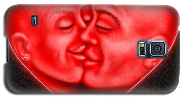 Galaxy S5 Case featuring the digital art Mad Love by Cristophers Dream Artistry