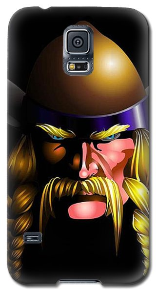 Mad Viking Galaxy S5 Case by P Dwain Morris