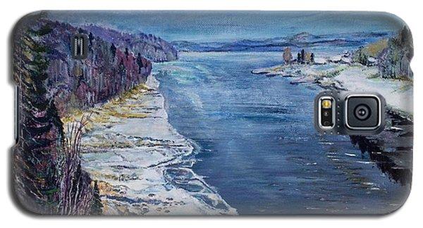 Galaxy S5 Case featuring the painting Madawaska by Iya Carson