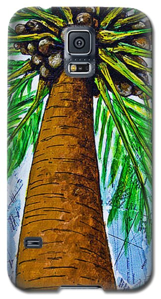 Galaxy S5 Case featuring the mixed media Made In The Shade by Melissa Sherbon