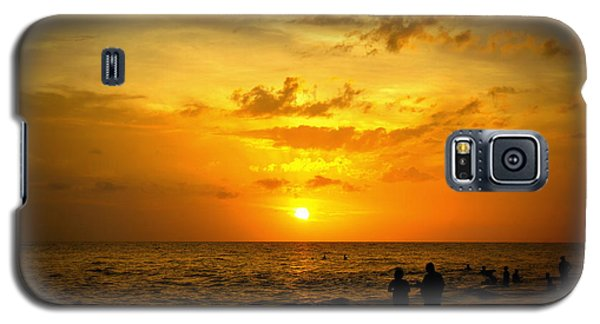Galaxy S5 Case featuring the photograph Madeira Sunset by Laurie Perry