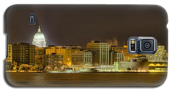 Madison - Wisconsin City  Panorama - No Fireworks Galaxy S5 Case by Steven Ralser