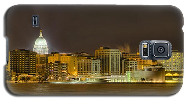 Madison - Wisconsin City  Panorama - No Fireworks Galaxy S5 Case