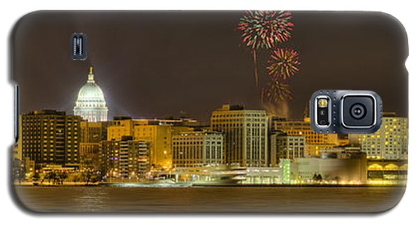 Madison Skyline New Years Eve Galaxy S5 Case