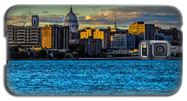 Madison Twilight Panorama Galaxy S5 Case