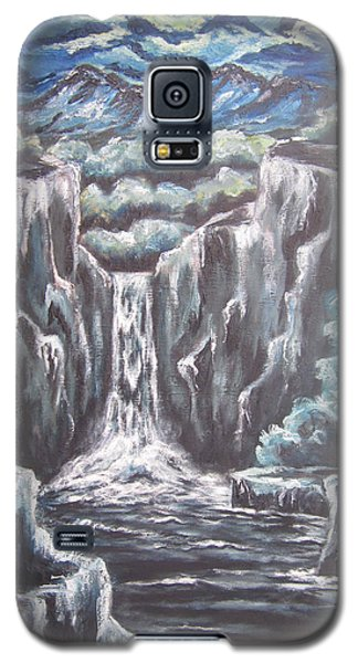 Galaxy S5 Case featuring the painting Madness At Midnight by Cheryl Pettigrew