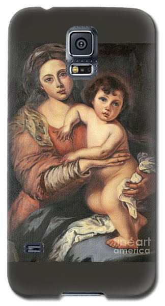 Madona And Child Galaxy S5 Case