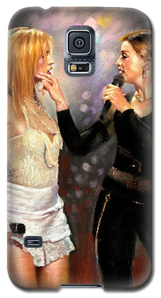 Madonna And Britney Spears  Galaxy S5 Case