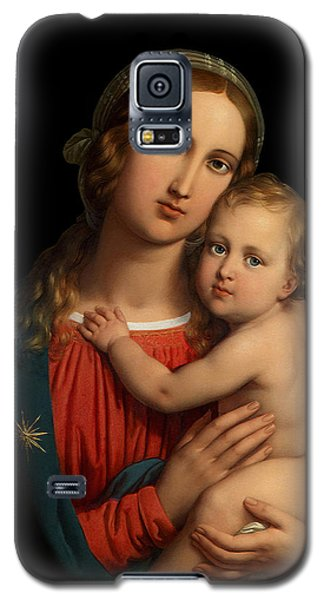 Galaxy S5 Case featuring the digital art Madonna by Johann Ender