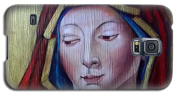 Madonna Of Peace Galaxy S5 Case by Irena Mohr