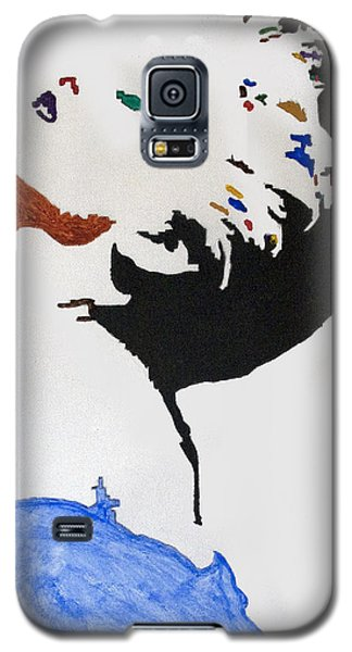 Madonna True Blue Galaxy S5 Case by Stormm Bradshaw