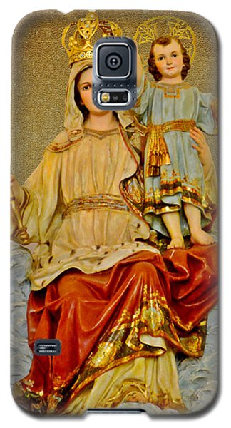 Galaxy S5 Case featuring the photograph Madonna With Child by Christine Till