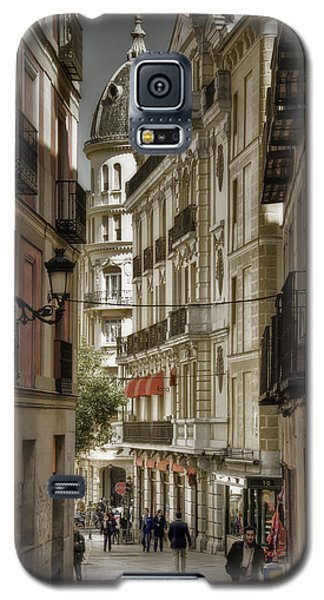 Madrid Streets Galaxy S5 Case by Joan Carroll