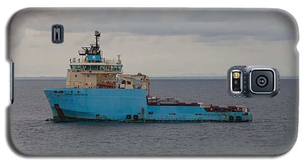 Galaxy S5 Case featuring the photograph Maersk Transporter by Gregory Daley  PPSA