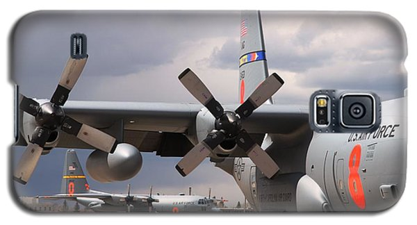 Maffs C-130s At Cheyenne Galaxy S5 Case