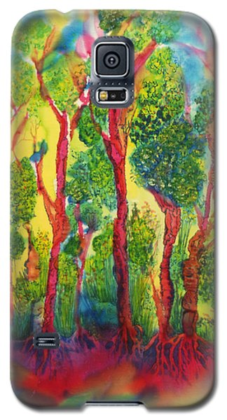 Galaxy S5 Case featuring the painting Appreciation by Susan D Moody