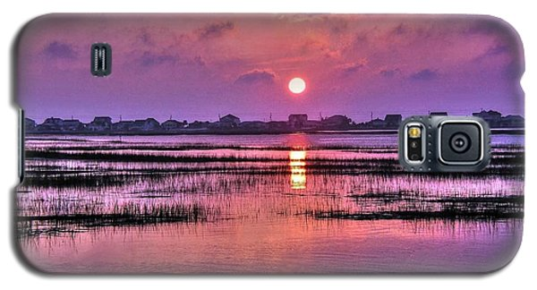 Magenta Sunrise Galaxy S5 Case by Ed Roberts