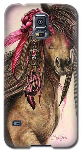 Magenta Warrior  Galaxy S5 Case by Sheena Pike