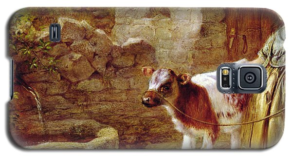 Cow Galaxy S5 Case - Maggie's Charge by John H Dell