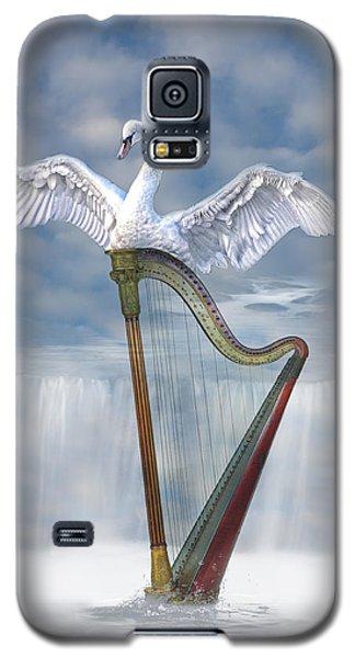 Galaxy S5 Case featuring the photograph Magic Harp  by Angel Jesus De la Fuente