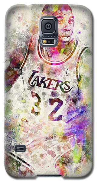 Magic Johnson Galaxy S5 Case by Aged Pixel