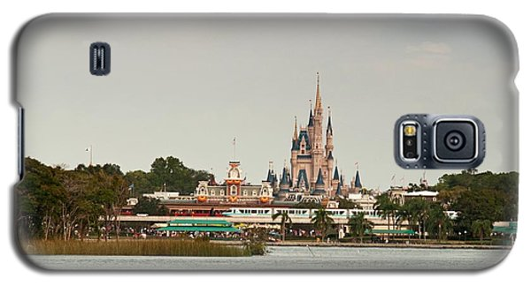 Galaxy S5 Case featuring the photograph Magic Kingdon - Walts Magical Place by John Black