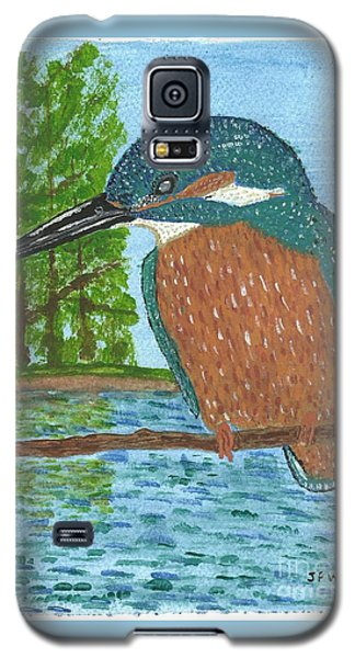 Galaxy S5 Case featuring the painting Magic Moments by John Williams