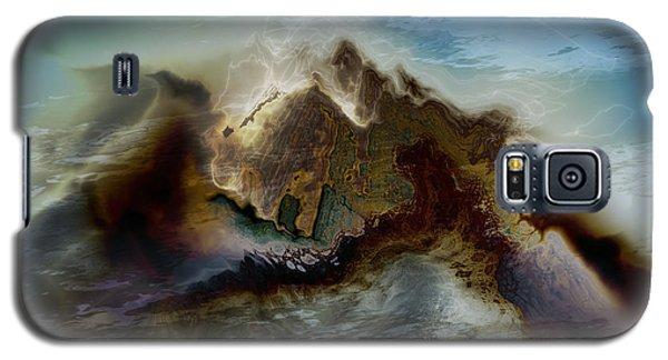 Galaxy S5 Case featuring the digital art Magic Mountain by Kim Redd