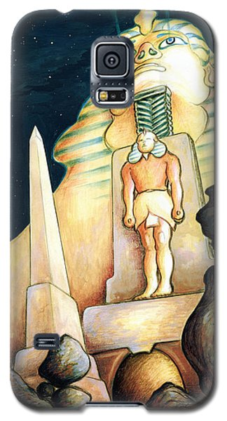 Magic Vegas Sphinx - Fantasy Art Painting Galaxy S5 Case