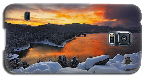 Galaxy S5 Case featuring the photograph Magic Sunset by Kadek Susanto