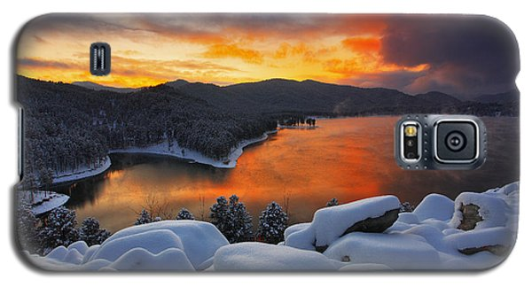 Magic Sunset Galaxy S5 Case