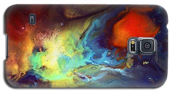 Magic Variety - Contemporary Liquid Abstract Art By Kredart Galaxy S5 Case