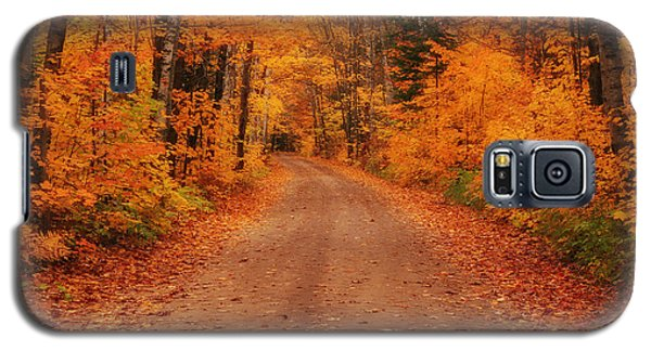 Magical Autumn Mystery Galaxy S5 Case by Rachel Cohen