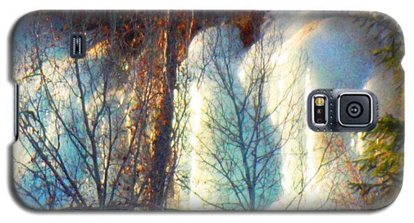 Galaxy S5 Case featuring the photograph Magical Ice Wall I by Anastasia Savage Ealy